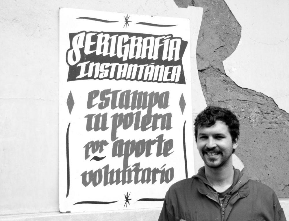 Sacar el oficio a la calle: Entrevista a César Vallejos